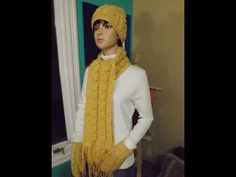 ▶ Crochet Cable Scarf - YouTube