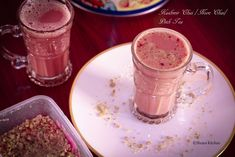 Kashmiri chai which is also called noon chai is a rich traditional tea from Kashmir. The traditional tea is prepared with a special tea leaves. The tea has a unique taste and pink color which is du…