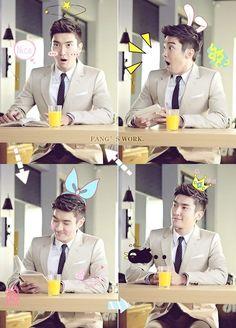 Siwon cute :)
