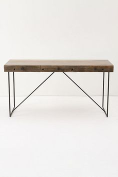 ANTHROPOLOGIE, BODHI DESK: and by bodhi, they better mean p-swayze, point break style.