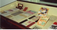 pamphlets, ribbons, badges and 2KY memorabilia in Lorna Morrison Room