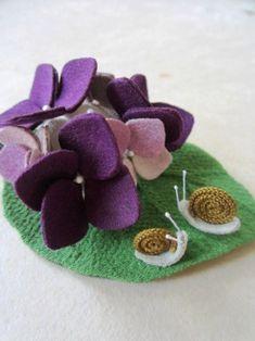 紫陽花小箱 の画像|ちりめん遊び うさぎ