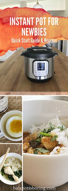 Easy how to, recipes, tips and why to take your Instant Pot out of the box (delicious food fast) Instant Pot Pressure Cooker, Pressure Cooker Recipes, Pressure Cooking, Crockpot Recipes, Healthy Recipes, Easy Recipes, Healthy Meals, Food Hacks, Food Tips