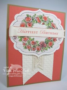 Happiest Birthday by Patimac1980 - Cards and Paper Crafts at Splitcoaststampers