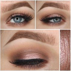Gentle wedding eye make-up for the Bride or Bridesmaids. Women, Men and Kids Outfit Ideas on our website at 7ootd.com #ootd #7ootd