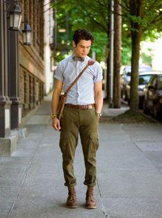 46 idées plein les poches pour adopter le pantalon cargo homme Pantalon  Cargo Homme, Homme