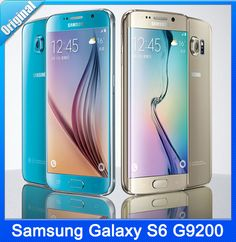 """Encontre mais Celulares Informações sobre Original Samsung Galaxy S6 borda G9250 G9200 Octa Core 3 GB RAM 32 GB ROM LTE 16MP 5.1 """" celular desbloqueado em estoque grátis frete, de alta qualidade Celulares de Mobile Franchised Store em Aliexpress.com"""