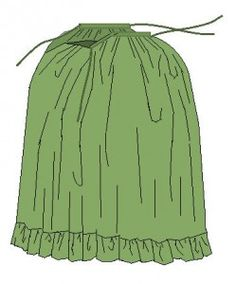 18th century petticoat tute - for panniers/skirt support