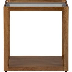 Mimic Cognac Cube in All Sale | Crate and Barrel