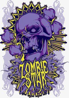 Rock Posters, Band Posters, Stoner Rock, Skull Artwork, Skeleton Art, Buddha Art, Geek Art, Skull And Bones, Graffiti Art