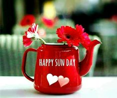 Good Morning Greetings, Good Morning Wishes, Easy Like Sunday Morning, Sunday Quotes, The Eighth Day, Favorite Words, Congratulations, Birthday Cards, Mason Jars