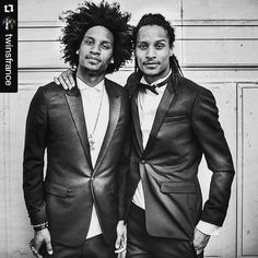 """""""I'm in Paris and my Twin loves are in Vegas. That's what happens when you're on the grind and sharing your gifts with the world."""" Decision Time Stone Love  #Repost @twinsfrance ・・・ ⌛ My #ChoiceDancer  for @teenchoicefox  is @officiallestwins  REPOST THIS if you are #LesTwinsClique  #lestwins #lestwinsFrance #worldwidetwins"""