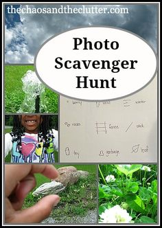 Summer fun... photo scavenger hunt