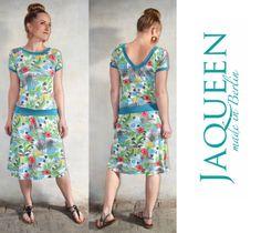Kleid Blumen Sommer Einzelstück von Jaqueen auf DaWanda.com