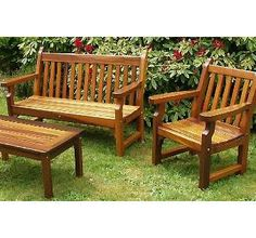 Nootka Cedar Outdoor Furniture