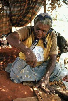 Australian Aboriginal artist Emily Kame Kngwarreye