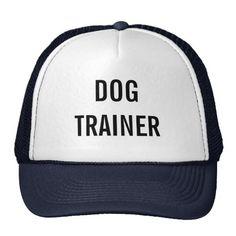 """""""Dog trainer"""" hat"""