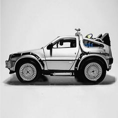 Delorean Smart Car Body Kits