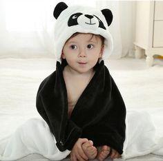 toalla poncho con capucha panda - Cerca amb Google