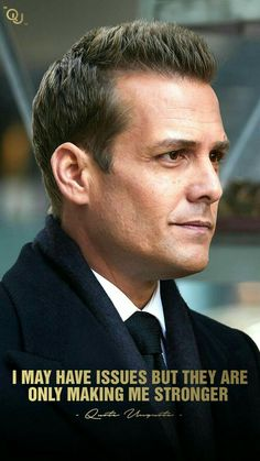 they are just only making me stronger. Positive Quotes, Motivational Quotes, Inspirational Quotes, Positive Thoughts, Badass Quotes, Best Quotes, Harvey Specter Suits, Suits Quotes, Gabriel Macht