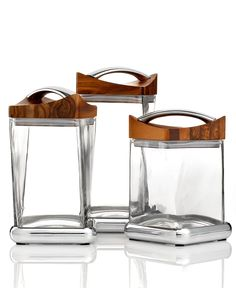 Nambe Gourmet Canisters, Twist Collection - Nambe - Home Decor - Macys Bridal and Wedding Registry