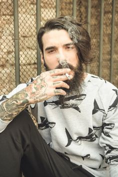 """edwartiger: """"Photo: Guiomar Gonzalez Model: Edwar Tiger Shirt: Dutchdelight bcn """""""