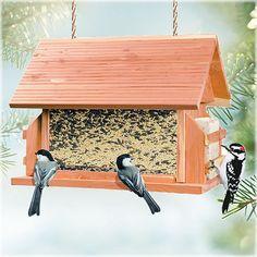 Perky-Pet® The Lodge Wild Bird Feeder, Model 50153