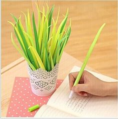 TStoy Poo-leaf Forest Green Grass-blade Ballpoint Silicon... https://www.amazon.com/dp/B0160PSF1E/ref=cm_sw_r_pi_dp_EHAFxb0HS1EBH