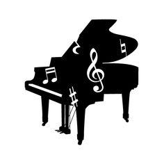 42件】ピアノ素材 無料|おすすめの画像 | ピアノ, 音符 イラスト ...