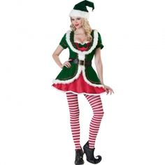Christmas Elf Costumes For Women are hot & leading the way for Xmas 2012 is the Holiday Honey Costume.  #elfcostume #christmascostume