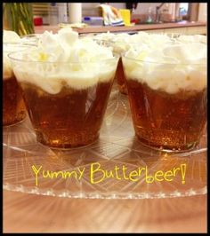 Harry Potter Butterbeer  DIY Kids Recipe