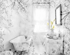 Instant Download Bathroom Wall Art clawfoot tub by HAUTEGRAPHIQUE (Art & Collectibles, Photography, Black & White, digital download, vintage bathroom, bathroom decor, instant download, bathroom art, clawfoot tub, bathtub, digital graphics, digital paper, bathroom, decor, commercial use, printable art)
