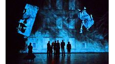 barbican theatre london hamlet set design - Google Search