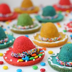 Hungry Happenings: Sombrero Pinata Cookies