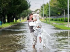 Hurricane Harvey Didn't Stop this Grateful Texas Couple from Marrying 24 hours to plan your dream wedding after a Hurricane Harvey blows away 6 months of wedding planning. After the Hurricane Shelley and Chris Holland had 24 hours to pull together new wedding plans. See how they did it....read more here: https://www.weddingtrendsandtraditions.com/hurricane-harvey-took-wedding-plans. Please SHARE AND LIKE if you enjoy our content, Thank you!