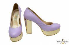 Chunky Pastel in Purple