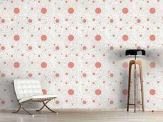 Design #Tapete Konstruktion Floral
