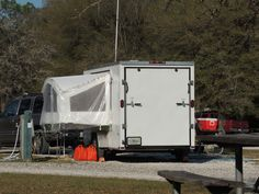 CARGO TRAILER CONVERTED TO CAMPER TRAILER - ...FW