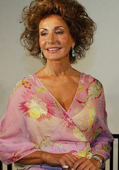 Nati Abascal former model Born: April 2, 1943