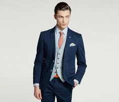 Ted Baker SS14  #grooms #suit #waistcoat