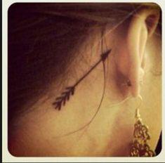 Arrow tattoo that I absotivley love