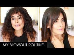 My BIG Curly Hair Tutorial | LOTS OF VOLUME - YouTube