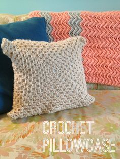 Crochet Pillowcase -- Rental Revival