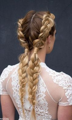 In need of some braid inspiration? Here are the most unique, cool, and creative braid combos... perfect for next summer hairstyle