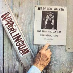 Jerry Jeff Walker * Viva Terlingua Live recording at Luckenbach, TX