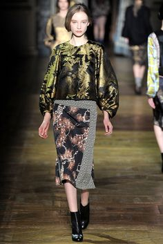 Dries Van Noten | Fall 2011 Ready-to-Wear Collection | Style.com