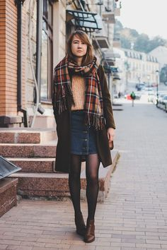 sweater - cndirect (buy here ) coat - pull&bear skirt - shein (buy here , I ordered size M) scarf - topshop boots - new look b...