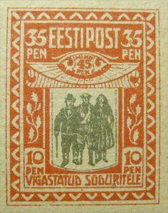 Estonia 1920. Charity Semi-postal. 35p+10p