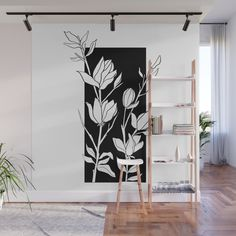 Dreams Of Spring Wall Mural by Megan Frauenhoffer - X Wall Painting Decor, Mural Wall Art, Deco Cool, Creative Walls, Wall Design, Room Inspiration, Diy Home Decor, Home Wall Decor, Bedroom Decor