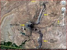 Dulce base from sky view